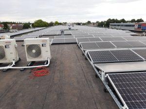 Mooi project van 965 panelen opgeleverd in opdracht van Volta Solar