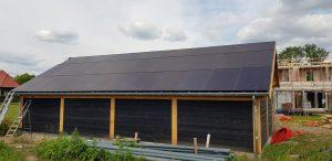 Mooi project van 56 panelen opgeleverd in opdracht van Hoppenbrouwers techniek