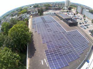 Mooi project van 825 zonnepanelen opgeleverd in opdracht van Ecorus
