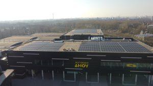 Mooi project van 2450 zonnepanelen opgeleverd in opdracht van SolarPartners